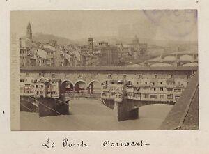 Florence Firenze Italia Vintage Albumina 6x9, 5cm Ca 1880