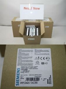 Siemens-3RF2420-1AC55-Semiconductor-Contactor-Semiconduct-New