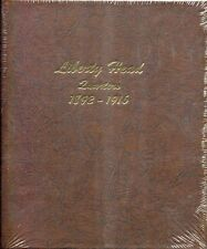 DANSCO Album Page Barber Liberty Head Quarters 1916-1916D #7130-4 Page 4