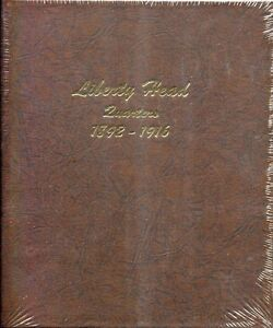 Dansco Coin Album # 7130 For Liberty Head Quarters From 1892-1916 NEW!!!