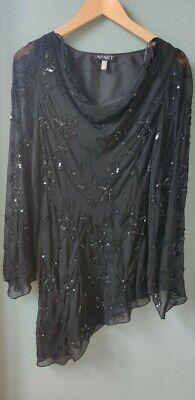 APARt kleid Pailetten 36 Damen schwarz | eBay