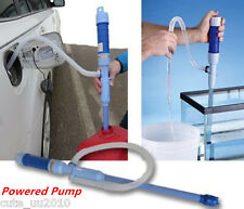 Car Diesel Fuel Water Gas Fish Tank Solvent Electric Battery Syphon Pump Hose