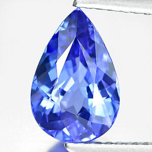 tanzanite in size quality mm trillion shape grade a gem carats