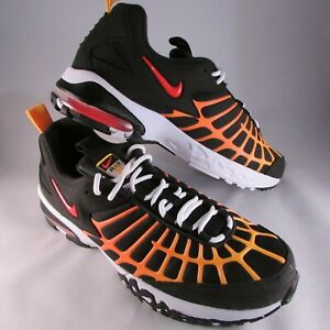 save off 88944 c0d53 Details about Nike Air Max 120 Orange Laser Black Athletic Shoes 819857-003  NWOB