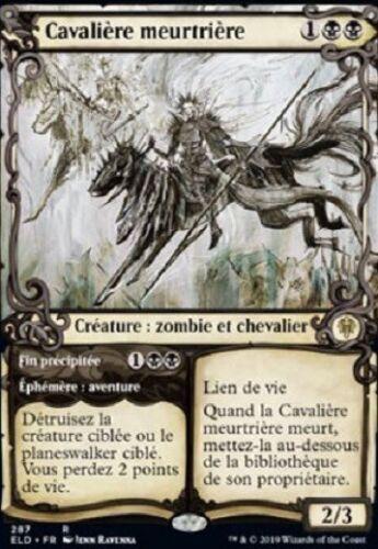 287 deadly cavalier r x1 le trone of eldraine