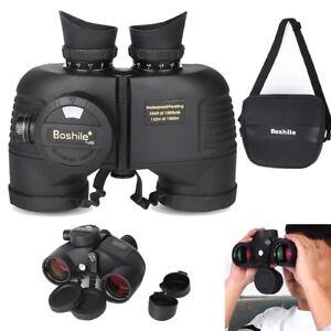 7X50-Military-Marine-Night-Vison-Binoculars-Waterproof-W-Rangefinder-Compass-SA