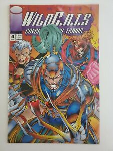 Jim-Lee-s-WildCATS-4-Image-Mar-1993-MT-9-9-Sealed-w-Trading-Card