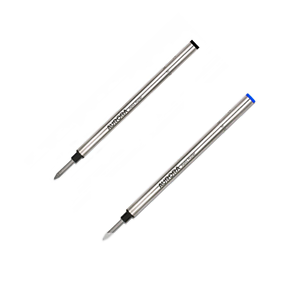Aurora-refill-ricambio-inchiostro-penna-roller-nero-blu-punta-M