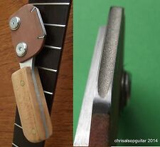 Guitar Fret Crowning File. 2.5mm concave profile diamond file. UK MADE TF080