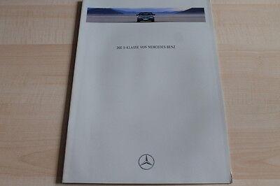 Mercedes S-klasse W140 Prospekt 01/1991 Auto & Verkehr Automobilia Gut Ausgebildete 121404