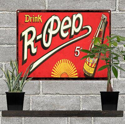 Hires Root Beer Soda World Vintage Look Advertising Metal Sign 12 x 12  60053