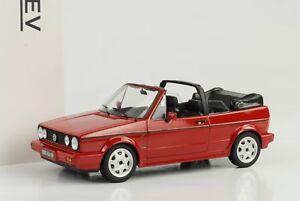 1992-Volkswagen-VW-Golf-I-convertible-cabriolet-1-rojo-1-18-norev-188405