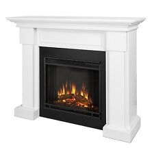 Real Flame 7910 W Hillcrest Ventless Gel Fuel Fireplace In White Ebay