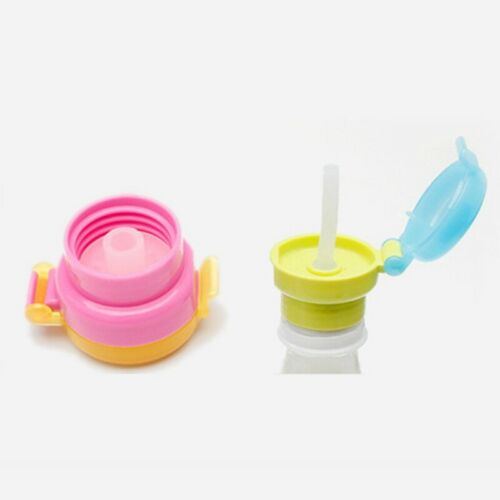 Free Children Portable Drinking Tube Straw Cover Spill-proof Cup Bottle iBWvw