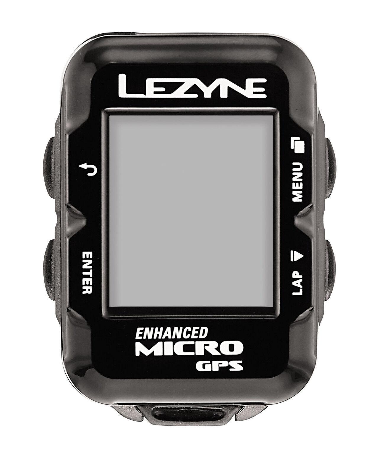Lezyne radcomputer micro GPS-con azultooth y ANT + navegación-nuevo -