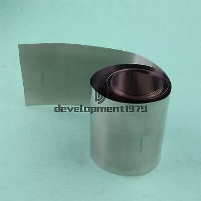 99.96/% Pure Nickel Ni Metal Foil Thin Sheet 0.05mm x 200mm x 1000mm