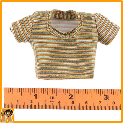Asmus Action Figures Striped Crop Shirt Girl Crush M 1//6 Scale