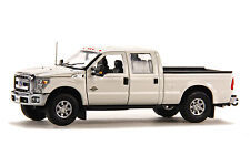 "Ford F250 Pickup - 6 Ft Bed - ""WHITE"" - CHROME Rims & Bumpers - 1/50 - Sword"