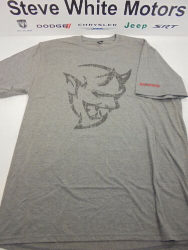 New Men/'s Dodge Demon T-Shirt Demon Head T Shirt Mens Medium Mopar New