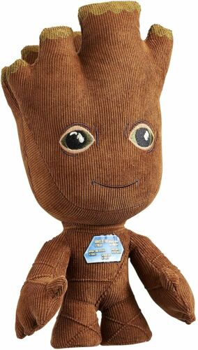 """Guardians of the Galaxy 10/"""" Talking Groot Plush Toy New"""