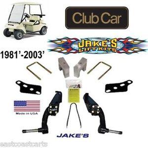 club car golf cart 1981 39 2003 39 jakes 6 spindle lift kit. Black Bedroom Furniture Sets. Home Design Ideas