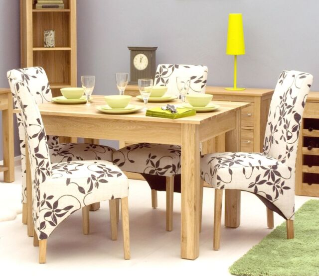 Mobel Solid Oak Dining Room Furniture Small Table And Felt Pads