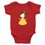 Infant-Baby-Rib-Bodysuit-Jumpsuit-Romper-Clothes-Beauty-amp-Beast-Princess-Belle thumbnail 20