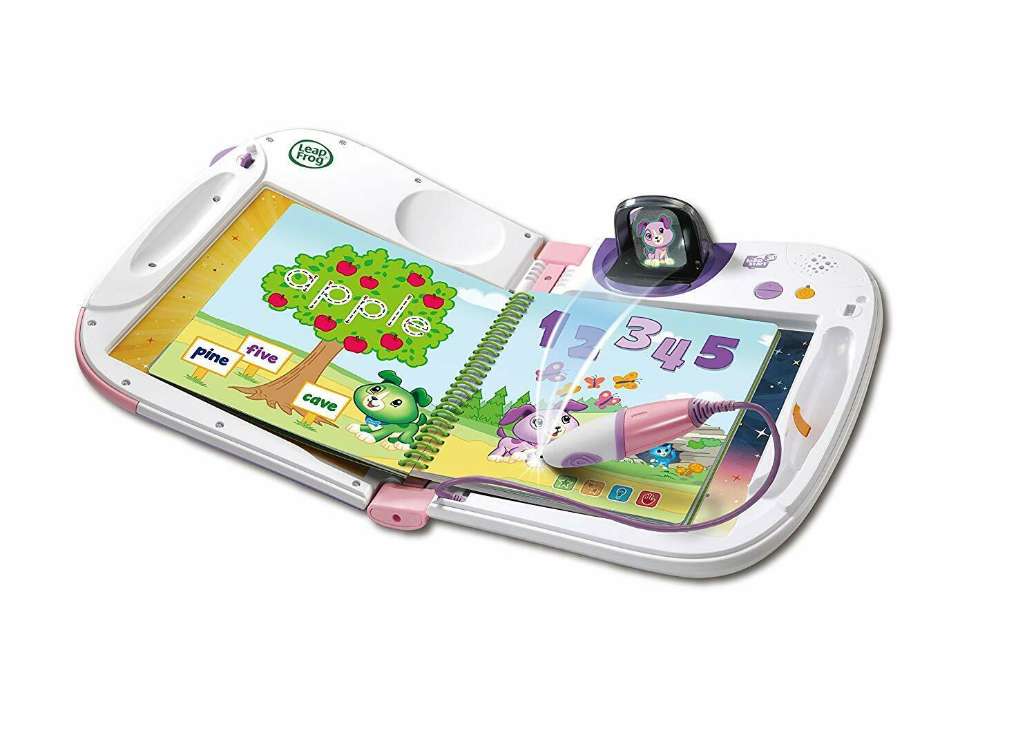 LeapStart 3D Interactive Book Display Touch-and-Talk Games Kids Educational Toy