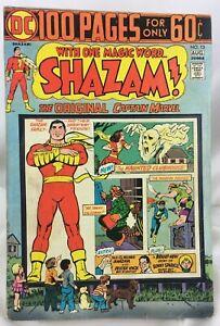 Shazam-Comic-Book-13-Captain-Marvel-Movie-C-C-Beck-Art-1974-DC-Giant-Size