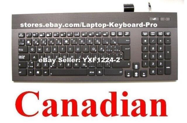 ASUS G74 G74S G74Sx Keyboard CA Canadian V126262AK1 04GN562KCB00-1 0KN0-L81CB01