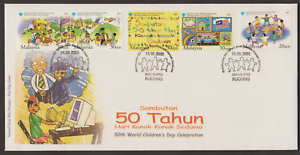F308-MALAYSIA-2003-50TH-WORLD-CHILDREN-039-S-DAY-CELEBRATION-FDC