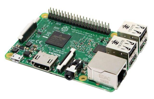 Raspberry Pi 3 Modelo B - Placa base