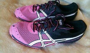 ASICS Womens Pink Black 9 USA Hyper