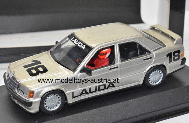 Mercedes 190 E 2.3 16V Nürburgring Anniversary 1984 Niki LAUDA 1 43 Minichamps
