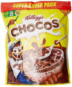 Corn-Flakes-Breakfast-Cereal-By-Kellogg-039-s-Chocos-1-2-Kg-Free-Shipping