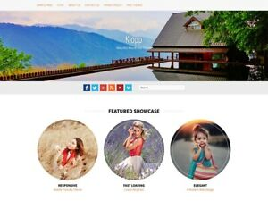 Websites with video background and video gallery. Events, Tours, Hospitality.
