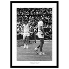 Bjorn Borg & John McEnroe 1980 Wimbledon Mens Final Tennis Photo Memorabilia