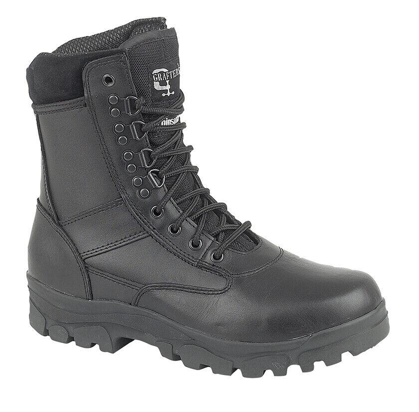 M671A 'Top Gun' Black Cadet Boot