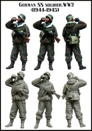 échelle 1:35 Allemand SS Soldat 1944-1945 Evolution miniatures 35119
