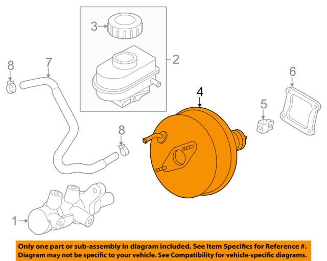 mazda oem 06-14 mx-5 miata-power brake vacuum booster nfy74380za