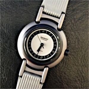 NOS New radiant Dynamic Grigio Zodiac Orologio Watch Vintage Japan
