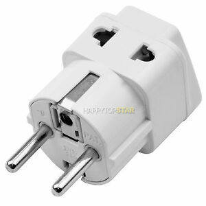 3 2 Pin Outlet Socket To Germany France South Korea 5mm Ac