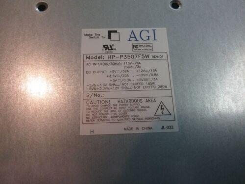 AGI HP-P3507F5W 350 Watt Power supply