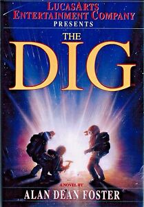 The-Dig-by-Alan-Dean-Foster-1996-First-Edition-Hardcover-Science-Fiction-Book