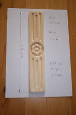 Holzzierteil  Blume andere Maße / Formen möglich  für Restauration Antikmöbel