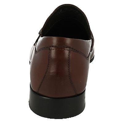 Para Hombre Anatomic Prime Goiania 2 Chocolate Marrón Cuero Inteligente Mocasines