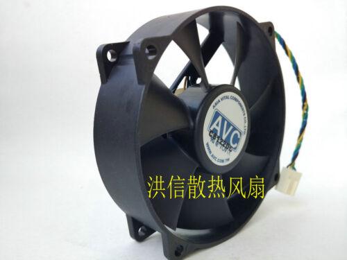 1PCS AVC DA09025T12U 12V 0.7A 9025 computer CPU chassis fan 4pin