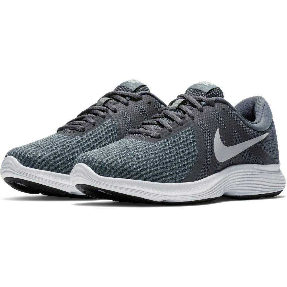 d9f37a776f3d Nike Revolution 4 Womens 908999-010 Dark Grey Platinum Running Shoes ...