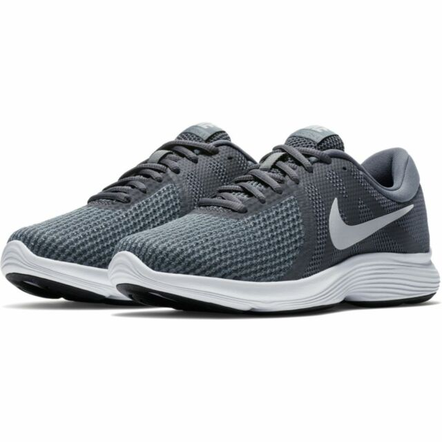 ea119108ae163 Nike Revolution 4 Womens 908999-010 Dark Grey Platinum Running Shoes ...