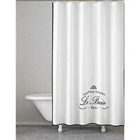 Kassatex Le Bain Collection Shower Curtain - White